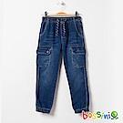 bossini男童-舒適牛仔褲01靛藍