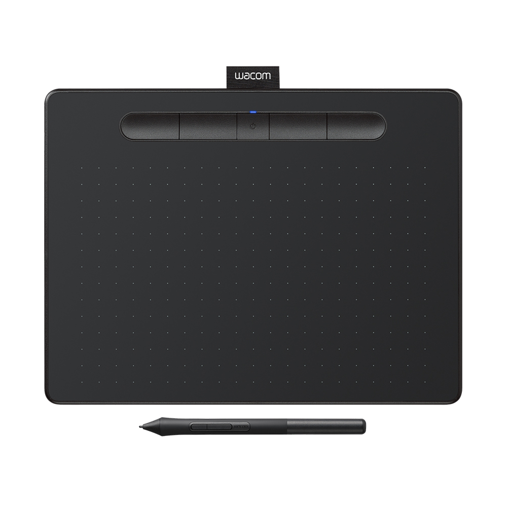 福利品-Wacom Intuos Comfort Plus Medium繪圖板(藍芽)