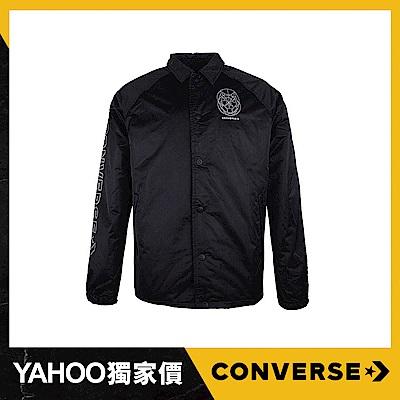 CONVERSE 男棒球外套 10007507-A01 黑