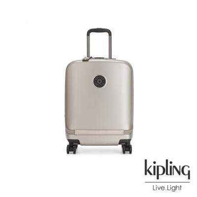 Kipling 都會時尚霧玫瑰金22吋摩登硬殼行李箱-CURIOSITY PKT