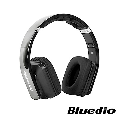 Bluedio (R2-WH)高傳真立體聲耳機(鐵灰)