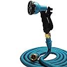 Effect 八代高壓8段彈力伸縮水管(15公尺) 贈萬用轉接頭