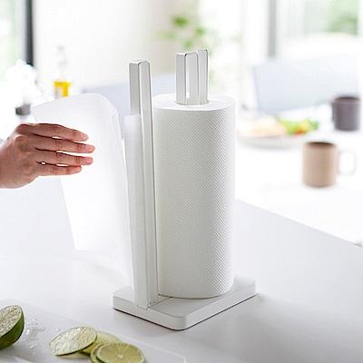 YAMAZAKI Plate立式紙巾架★置物架/廚房收納/餐巾紙架/捲筒衛生紙