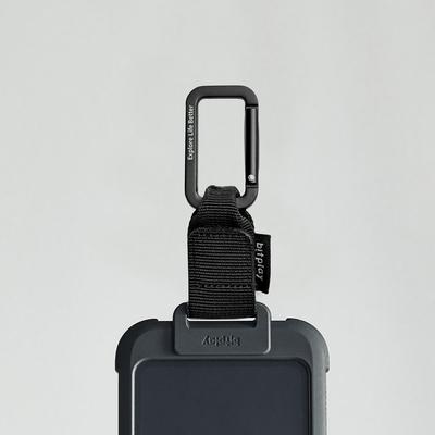 bitplay 織帶掛扣 for Wander Case隨行殼-黑色