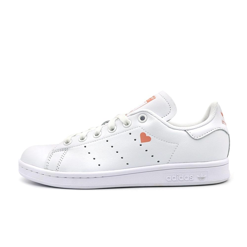 ADIDAS STAN SMITH 女 休閒鞋 白粉-FW6227