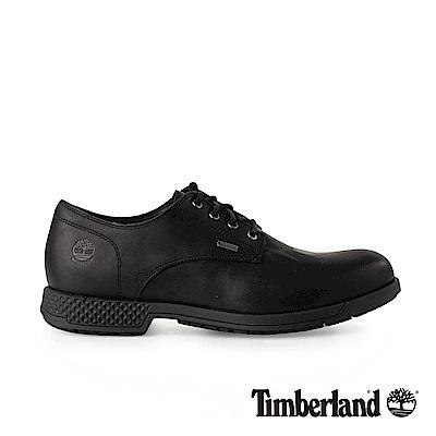 Timberland 男款黑色全粒面皮革休閒鞋   A1SN9015