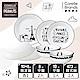 (獨家)【美國康寧 CORELLE】SNOOPY 復刻黑白7件式餐具組-G03 product thumbnail 1