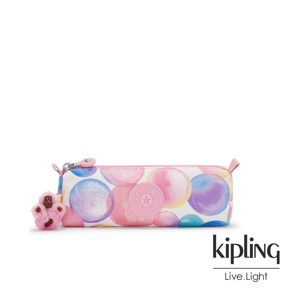 Kipling 繽紛夢幻泡泡長形拉鍊包-FREEDOM
