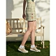 CACO-奇奇蒂蒂格紋裙(二色)-親子款-女【B2DI061】 product thumbnail 1