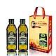義大利Giurlani 老樹特級初榨橄欖油禮盒組(500mlx2瓶) product thumbnail 1