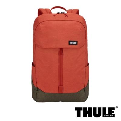 Thule Lithos 20L 15.6 吋電腦後背包-橘紅