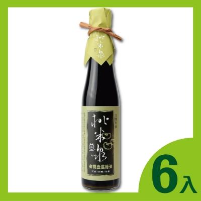 桃米泉 有機壺底蔭油6瓶(410ml/瓶)