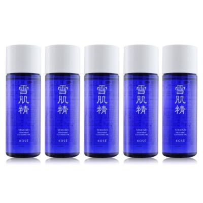 KOSE 高絲 雪肌精淨透潔顏油 N33mlX5