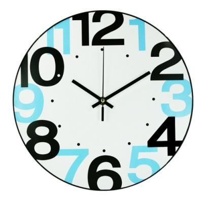 【KINYO】12吋簡約靜音掛鐘/時鐘(CL-148)超大數字