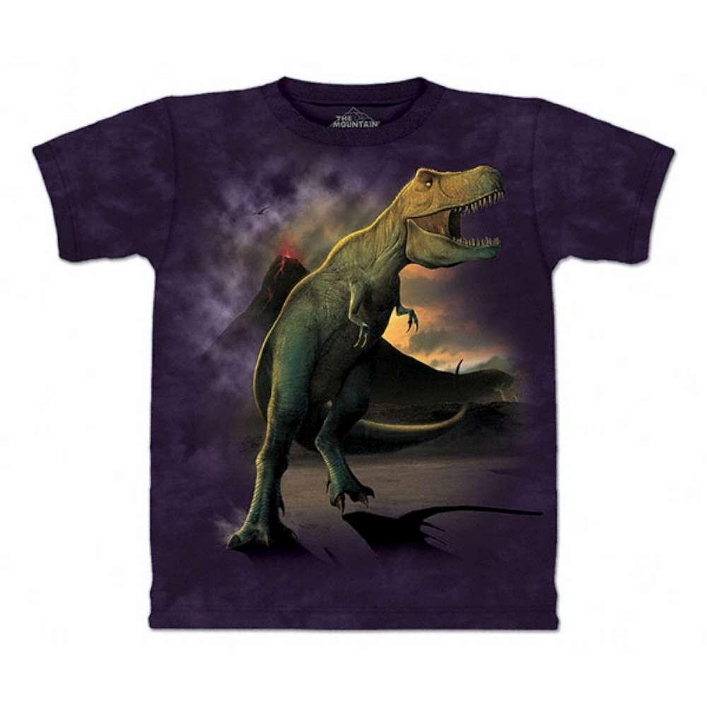 摩達客-美國The Mountain 雷克斯龍嚎 兒童版純棉環保短袖T恤