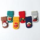[Kori Deer 可莉鹿]聖誕立體裝飾防滑嬰兒襪3雙組禮盒