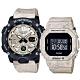 CASIO 卡西歐 G-SHOCK Baby-G 地質系大理石紋情侶手錶 對錶 GA-2000WM-1A+BGD-560WM-5 product thumbnail 1