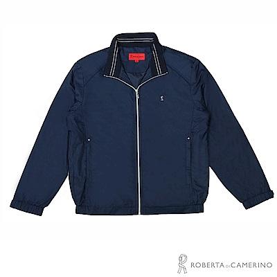 ROBERTA諾貝達 台灣製 進口素材 機能夾克外套  深藍