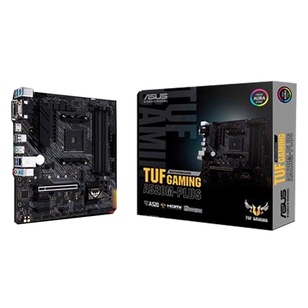 ASUS華碩 TUF GAMING A520M-PLUS 主機板