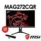 msi微星 Optix MAG272CQR 27型2K曲面電競螢幕(送MAG XA2821 SoundBar喇叭) product thumbnail 1