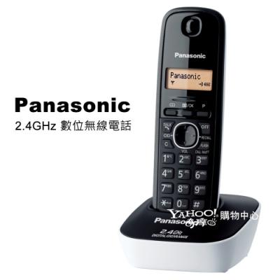 Panasonic 2.4GHz 數位無線電話KX-TG3411 (經典白)