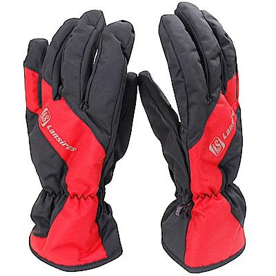 OMAX超輕柔防寒防水手套-紅色-8H