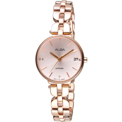 ALBA 雅柏 幸福協奏曲時尚腕錶(AG8J76X1)29mm