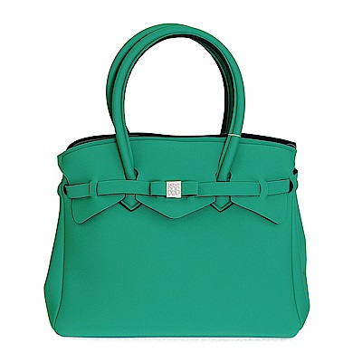 SAVE MY BAG 義大利品牌 MISS系列 草地綠超輕量手提托特包