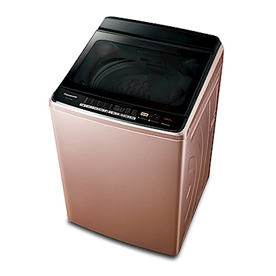 [無卡分期12期]Panasonic 國際牌 變頻洗衣機 NA-V178EB-PN 玫瑰金