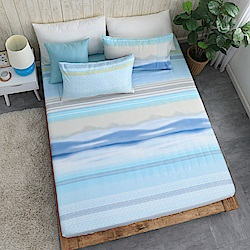 DESMOND岱思夢 單人 天絲床包枕套二件組(3M專利吸濕排汗技術) 遙知