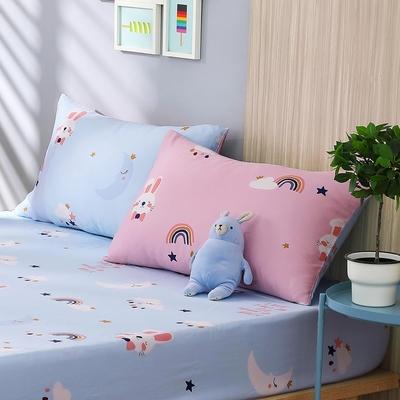 鴻宇 單人床包枕套組 天絲 萊賽爾 悠悠兔 台灣製
