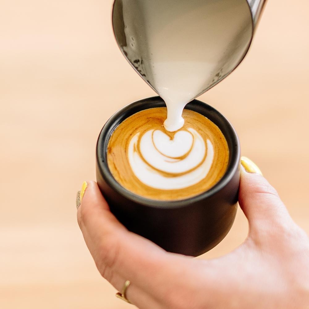 FELLOW MONTY 雙層陶瓷咖啡杯2入組 – 3oz (濃縮杯/拉花杯/拿鐵杯/陶瓷杯/手沖咖啡) product image 1