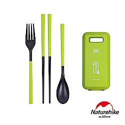 Naturehike 戶外輕巧旅行餐具組 綠色 - 急