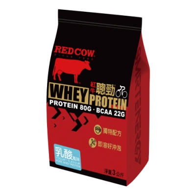 紅牛聰勁即溶乳清蛋白-乳酸風味(3公斤)