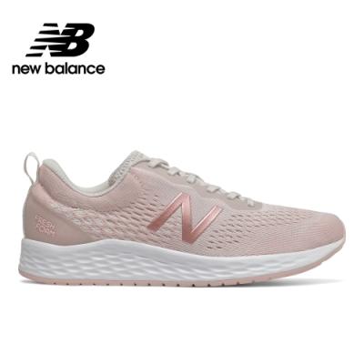 New Balance緩震跑鞋_女_粉橘_WARISCP3-D