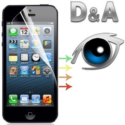 D&A 蘋果iPhone X/Xs/11 Pro(5.8吋)日本膜9H藍光超潑水增豔保貼