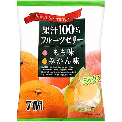 Mama 綜合鮮果凍-桃子&柑橘(168g)