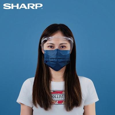 SHARP 夏普 奈米蛾眼科技防護眼罩(4入)