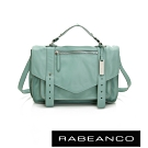 RABEANCO Modern現代美學系列雙飾帶包(小) 薄荷綠