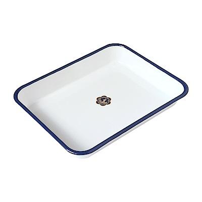 月兔印 琺瑯調理方盤-25cm