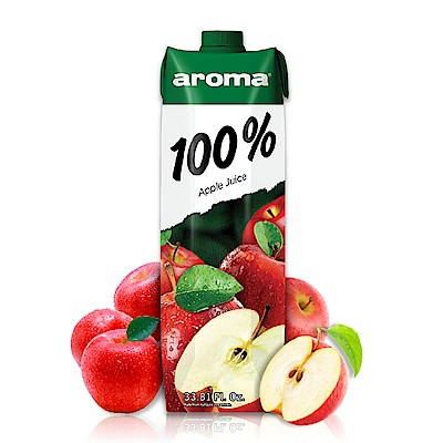 土耳其AROMA100%蘋果汁1000ml