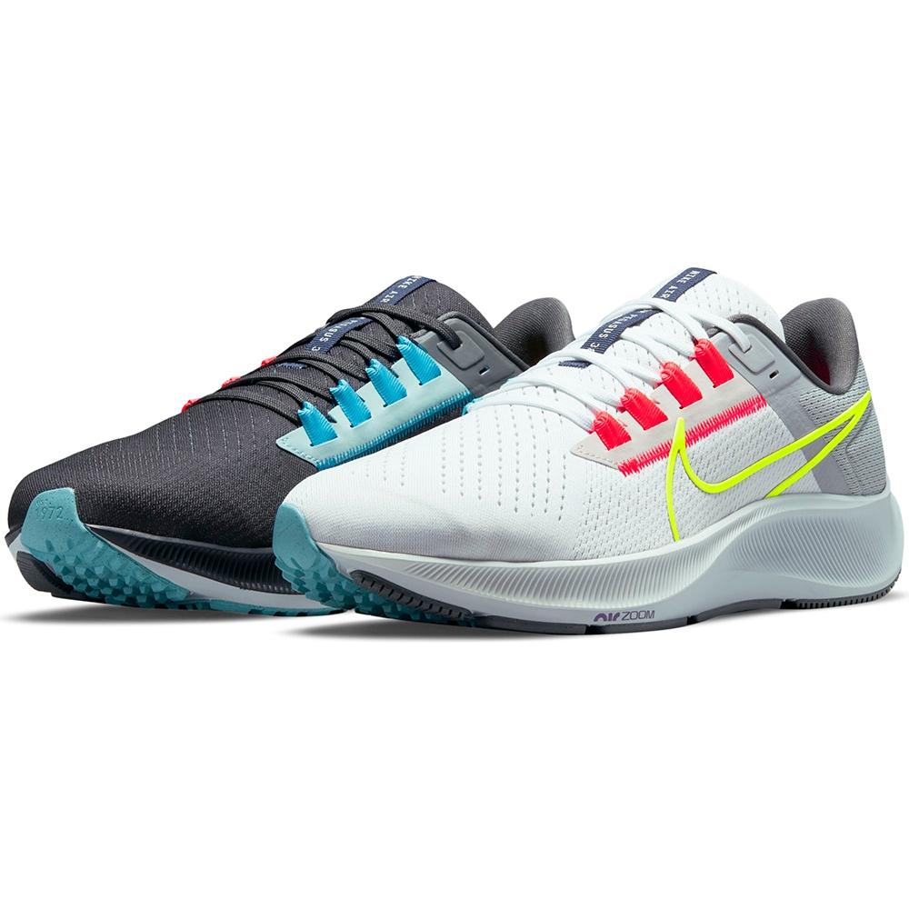 NIKE 耐吉 慢跑鞋 運動鞋 小飛馬 雙色 男鞋 黑白灰 DJ3128-001 AIR ZOOM PEGASUS 38 LE