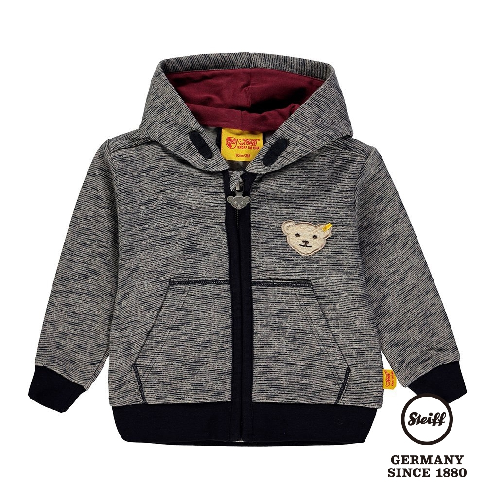 STEIFF德國精品童裝  連帽熊熊休閒外套(夾克)