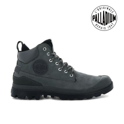 PALLADIUM PAMPA SC OUTSIDER WP+皮革防水靴-中性-鐵灰