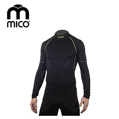 MICO 男Primaloft無縫高領保暖衣1471