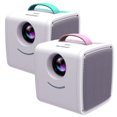 [時時樂限定]O2 手提式兒童微型投影機