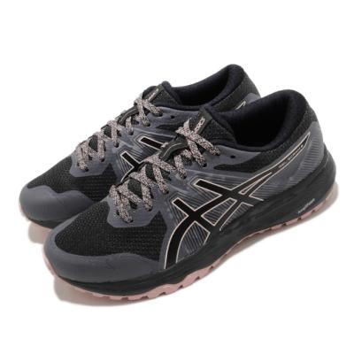 Asics 慢跑鞋 Gel Scram 6 運動 女鞋 亞瑟士 路跑 緩震 野跑鞋 亞瑟膠 黑 粉 1012A730021