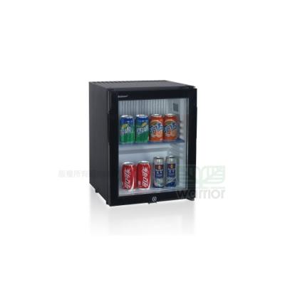 Dellware玻璃門吸收式無聲客房冰箱 (DW-30TE)