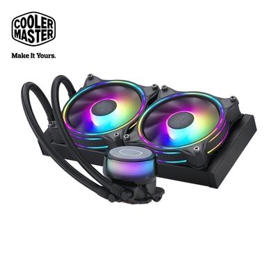 Cooler Master MasterLiquid ML240 illusion ARGB 水冷散熱器 黑色