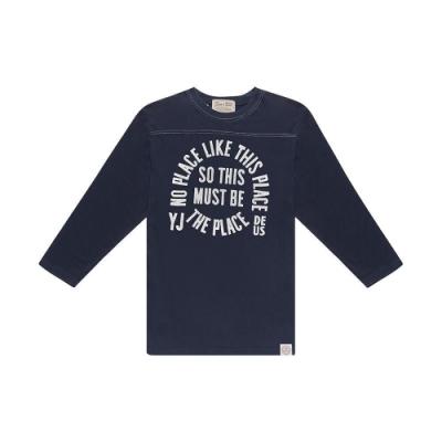 Deus Ex Machina  Place Perception Tee 長袖T恤-(藍)